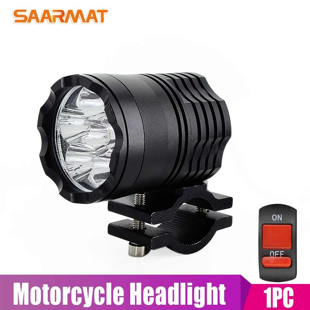 1 piece Led Motorcycle bike Headlight bulb 40W Waterproof Driving Spot Fog Lights External MOTO DRL Accessories bulb 12V for ktm