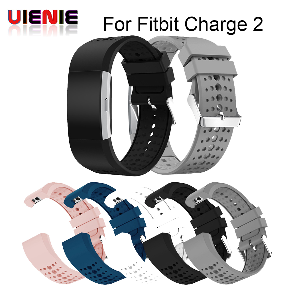 Colorful Strap Bracelet Soft Silicone Watch Band Wrist Strap For Fitbit Charge 2 Band Charge2 Heart Rate Smartwatch correa reloj fitbit watch