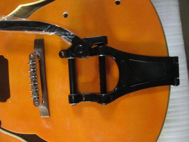 Archtop Jazz Guitar Hollow Body Guitar Tremolo and Bridge Guitar Parts