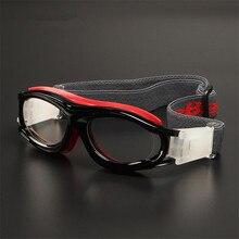Детские спортивные очки, баскетбольные очки, очки по рецепту, стеклянная оправа, футбольные защитные очки, уличные оправа для оптических линз на заказ, маленькая коробка