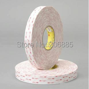 100% Original 3M 4920 VHB acrylic double side foam tape/3M mylar tape/UV-resistant/can use in outdoor or indoor/ 20mm*33m*5rolls 3m acrylic tape vhb 4991adhesive double sided tape outstanding durability performance 0 5 in 18yd 5rolls we can offer other size