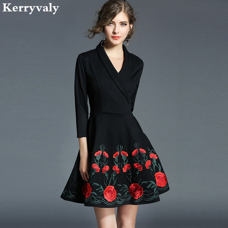 Spring Bow Red Green Lace Dress Women Clothes 2018 Vestido Casual