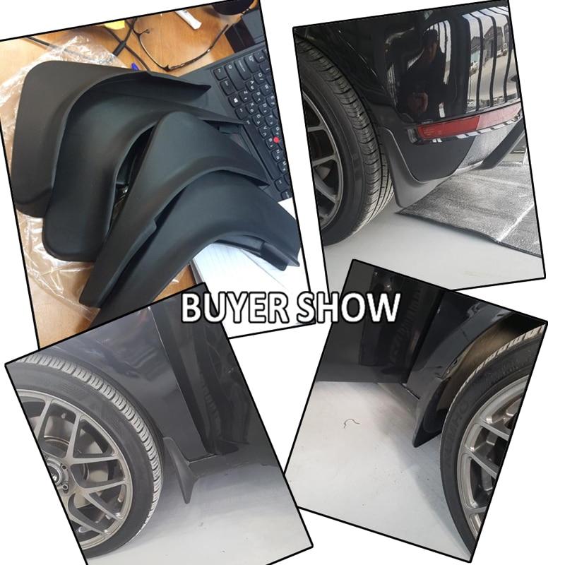 GOMMA Modellato universale adatta auto Anteriore Parafanghi si adatta VW Jetta MK6