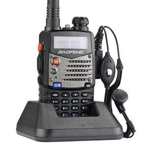 Image 4 - Uzun menzilli Walkie Talkie Uhf Vhf Pofung UV 5RA, yükseltilmiş BAOFENG UV5R CB radyo istasyonu radyo tarayıcı polis iki yönlü radyo