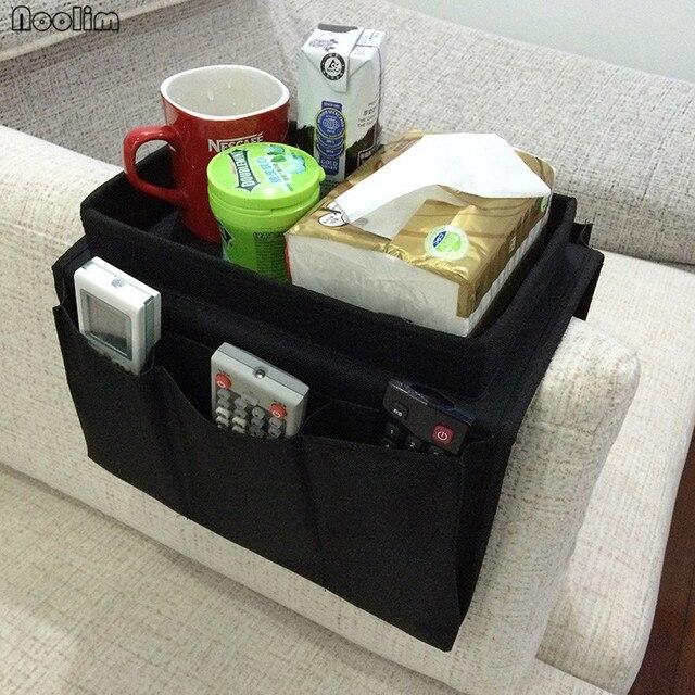NOOLIM Sofa Handrail Storage Bag Couch Armrest Arm Rest