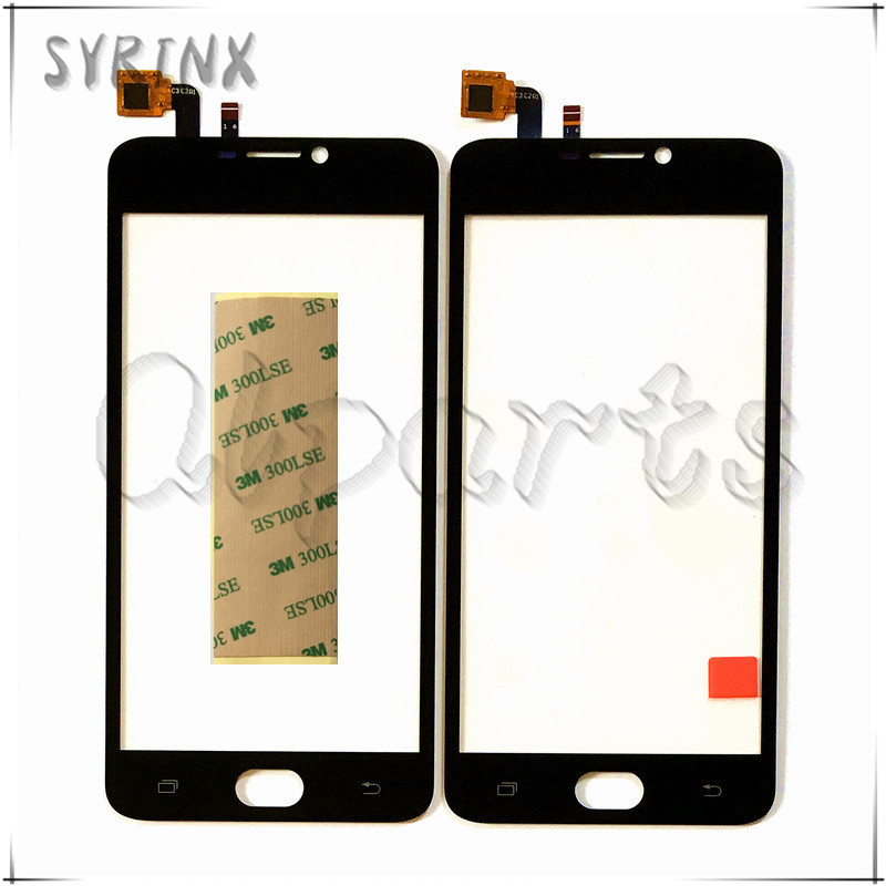 Syrinx + Tape High Quality Mobile Phone Touchscreen For Ark Benefit M501 Touch Screen Digitizer Sensor Front Glass Panel Sensor