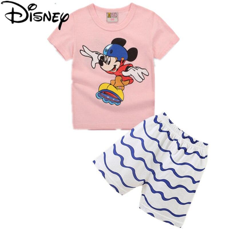 b34dafdf96f4b Disney spider man garçons vêtements définit été marque casual garçons plaid  manches courtes T shirt + shorts enfants Sport S vêtements dans Vêtements  ...