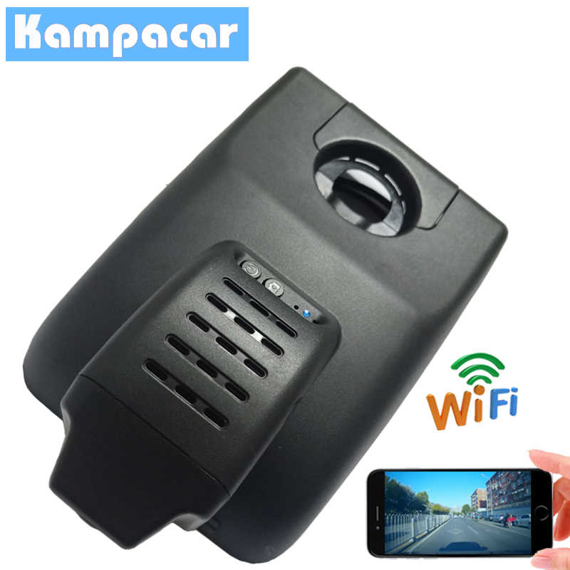 Kampacar HD 1080P Car Wifi Dvr Video Recorder For Toyota Camry V70 XV XV70 2018 Dual Lens Dash Cam Car DVRs With Two Cameras