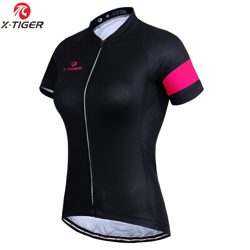 X-Tiger Women Cycling Jersey Top Quality Summer MTB Bicycle Wear Cycling Clothing Maillot Ropa Ciclismo Racing Bike Clothes
