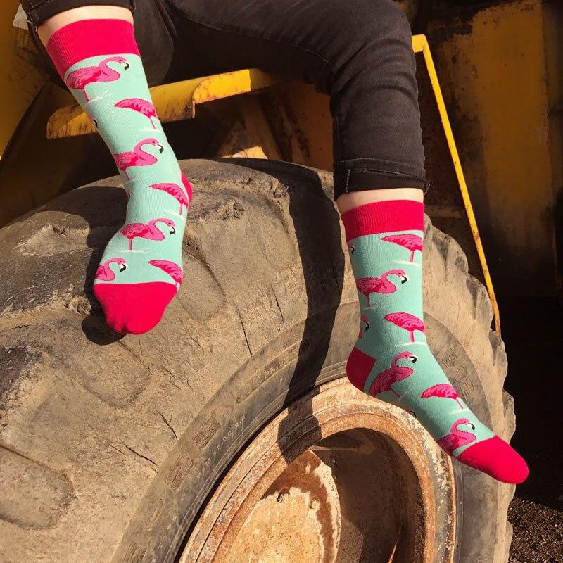 97388413270b3e US $1.92 35% OFF|PEONFLY glücklich lustig herren lange Socken männer  Cartoon Hit Farbe Persönlichkeit Liebhaber Flut Männlichen Baumwolle tier  ...