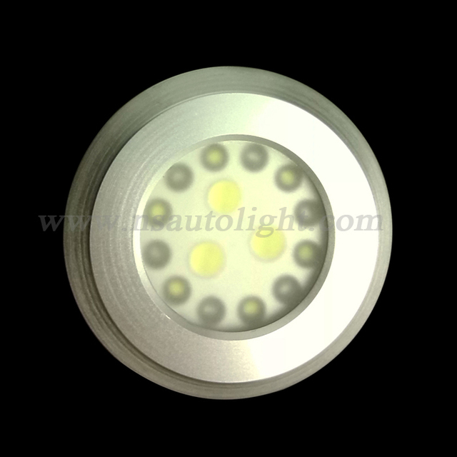 Ordinaire 12V 12 LED White Interior Roof Doom Cabin Lamp, Super Bright 3w 200lm Led