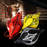 New Double End Muay Thai Boxing Punching Bag Speed Ball PU Punch Training Fitness Sports Practical