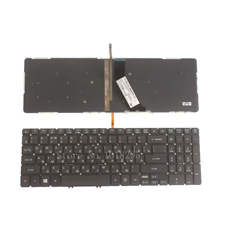 Russian Laptop <font><b>Keyboard</b></font> for Acer Aspire V5-552 V5-552G V5-552P V5-572 V5-572G V5-572P V5-573 V5-573G V5-573P V5-583 Backlight RU