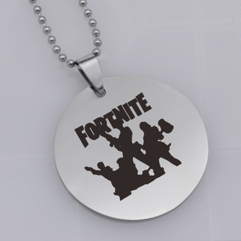 Ufine FPS Game pendant Fortnite pendant stainless steel jewelry necklace Customed words or name necklace N460