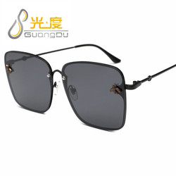 GUANGDU nowe Okulary Cat Eye kobiety óculos metalowe Okulary Przeciws Oneczne Okulary damskie Okulary przeciwsłoneczne UV400 luneta soleil femme 2