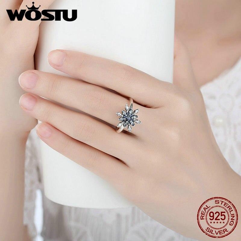 fiocco di neve pandora anello