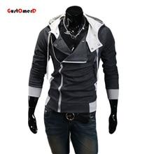 9 цветов М-6XL 2015 Толстовки Мужчины Толстовка Мужчины Спортивный Костюм С Капюшоном Куртки Случайный Мужчина С Капюшоном Куртки moleton Assassins Creed