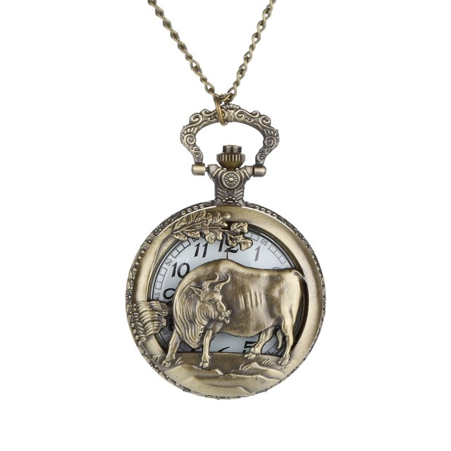 2019 Vintage Personalized Pattern Steampunk Vintage Quartz Roman Numerals Pocket Watch Montre Relogio Watches Men Reloj Clock