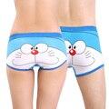 Mens boxers underwear bragas de dibujos animados de algodón calzoncillos de los hombres calzoncillos cuecas calzoncillos bragas de dibujos animados de pareja underwear l xl