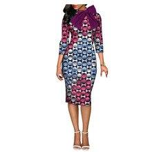 African clothes dresses bow knot maxi plus big size wax print fabric dashiki  Ankara fashion African 78b766a09ace