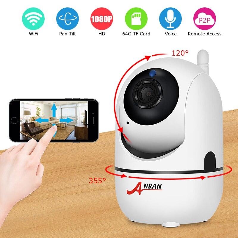 Anran 1080 p IP Cámara WiFi video vigilancia cámara de visión nocturna cámara de seguridad de dos vías de audio del monitor del bebé