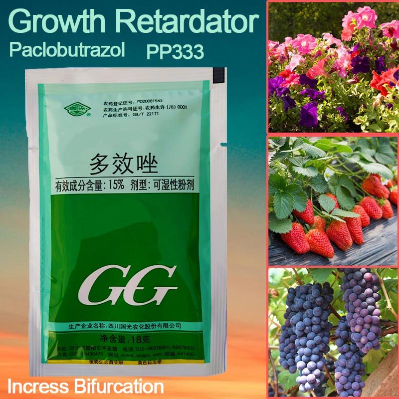 18g Paclobutrazol Bonsai Plant Growth Regulators Growing Delayed Growth Aid Fertilizer Garden Agricultural Medicine