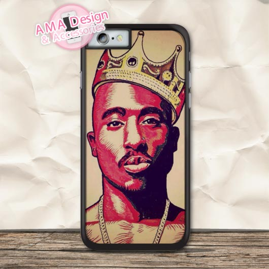 2pac Tupac Hip Hop Rapper Protective Case For iPhone X 8 7 6 6s Plus 5 5s SE 5c 4 4s For iPod Touch