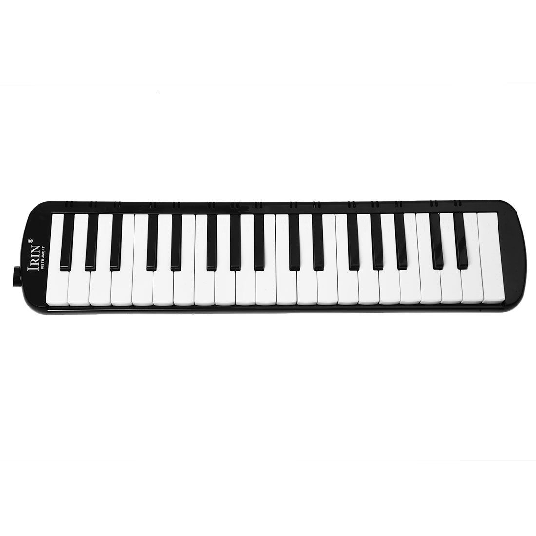 IRIN Black 37 Piano Keys Melodica Pianica w/Carrying Bag For Students New