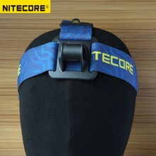 1 PC best price Nitecore HB03 lantern headlight headband Strap with four nylon loops elastic led head light