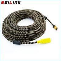 1.4 В 1080 P плетеный нейлоновый Позолоченные кабель HDMI мужчинами встроенный IC 3D для HDTV 25 м 30 м 35 м 40 м 45 м 50 м 60 м