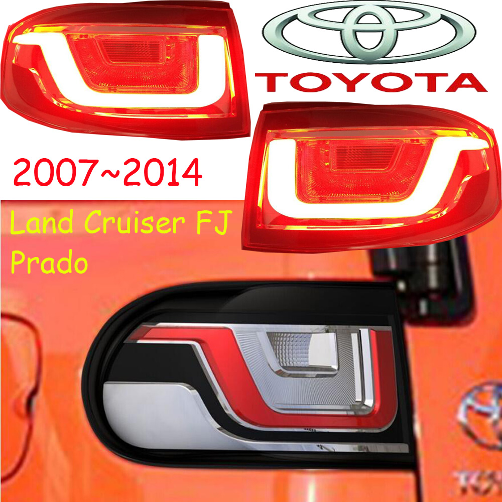 car-styling,Cruiser Taillight,FJ,2007~2014,led,Free ship!2pcs/set,Cruiser fog light;car-covers,Chrome,Cruiser tail lamp,prado FJ nyne cruiser