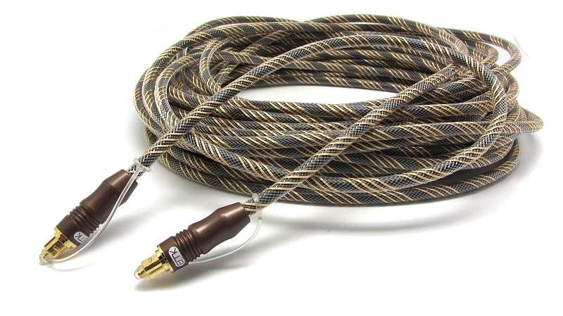 OD6.0mm Brown Digital Optical Optic Fiber Toslink Audio Cable Cord 1m 1.5m 1.8m 3m 5m 8m 10m 15m 20m 25m 30m 1ft 2ft 3ft 5ft