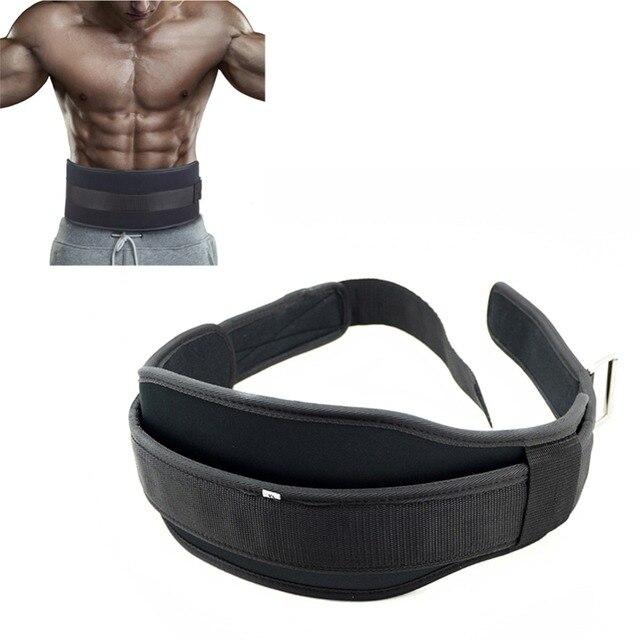 Poids De Levage Gym Ceinture Haltères Musculation Squat Dip Formation  Ceinture Musculation Powerlifting Taille Protecteur Matériel 8a23d533805