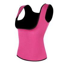 Plus Size S-2XL Women Neoprene Shape wear Waist Trainer Push Up Vest Tummy Belly Girdle Hot Body Shaper Waist Cincher Corset