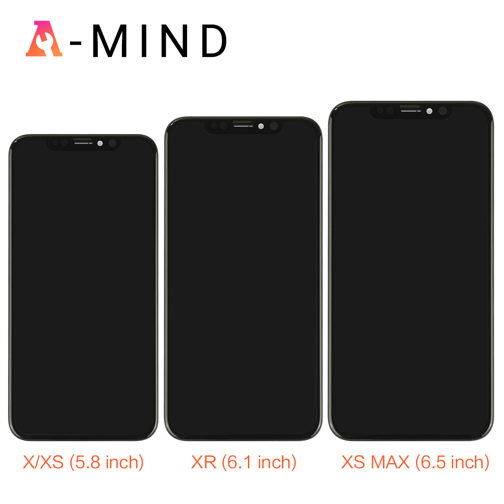 Grade For iPhone X S Max XR LCD Display For Tianma AMOLED OEM Touch Screen With Digitizer Replacement Assembly Parts BlackGrade For iPhone X S Max XR LCD Display For Tianma AMOLED OEM Touch Screen With Digitizer Replacement Assembly Parts Black