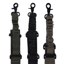 1 Pcs Tactical Nylon Adjustable single point Bungee Rifle Gun Airsoft Air Sling hunting gun Strap Shooting Accessories