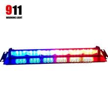 High brightness LED dash light, LED visor light, emergency warning light LED windshield light, 3W LED, powered by cigarette plug