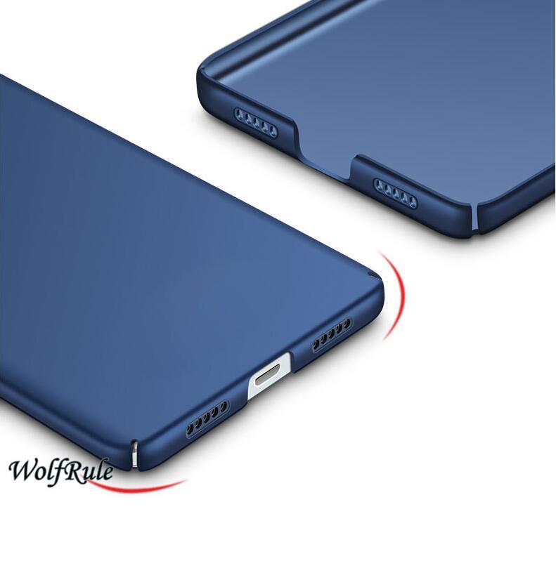 För telefonväska Xiaomi Mi6 fodral Anti Knock Smooth Slim PC - Reservdelar och tillbehör för mobiltelefoner - Foto 6
