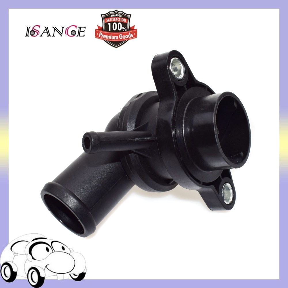 US $12.39 22% OFF|ISANCE Engine Coolant Thermostat Housing embly 96282726 on