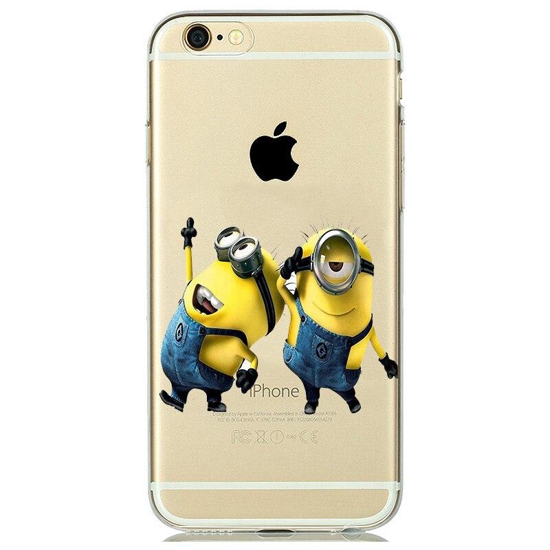 coque iphone 8 silicone minion