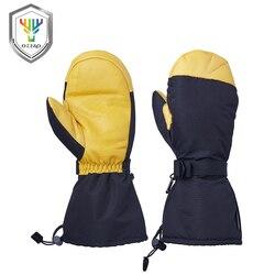 OZERO Inverno scarpe da Lavoro da Uomo di Driver Guanti Caldi Antivento Impermeabile di Protezione di Sicurezza di Sicurezza Usura Lavoratori Per Gli Uomini Donna Guanti 900