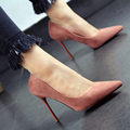 2017 New Sexy Women Pumps Pointed Toe  High Heels Women Shoes Simple   Women's Singles Shoes