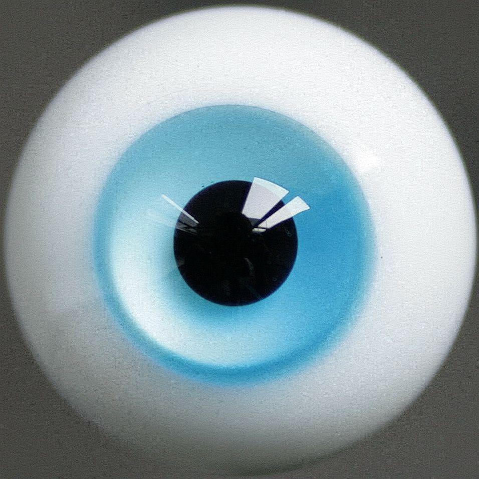 [wamami]ET59 # 14mm Light Blue Eyes For DOD AOD DZ BJD Dollfie Glass Eyes Outfit