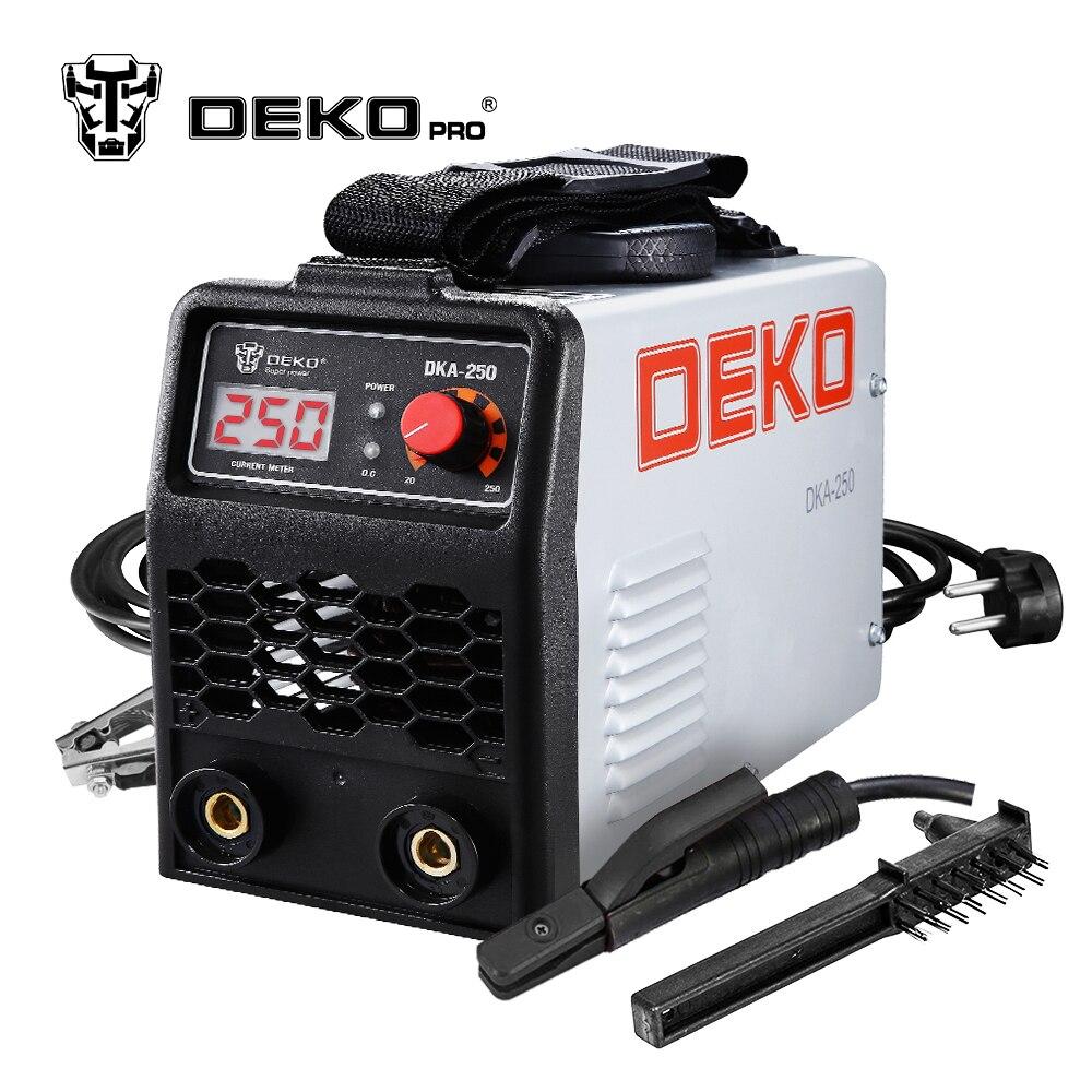 DEKO DKA Série Onduleur IGBT Arc Machine De Soudage Électrique 220 v MMA Soudeur pour le Soudage de Travail et Électrique de Travail