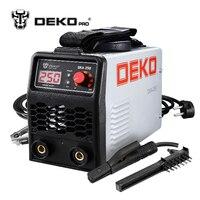 DEKOPRO DKA 250 250A 6.8KVA IP21S Inverter Arc Electric Welding Machine MMA Welder for Welding Working and Electric Working