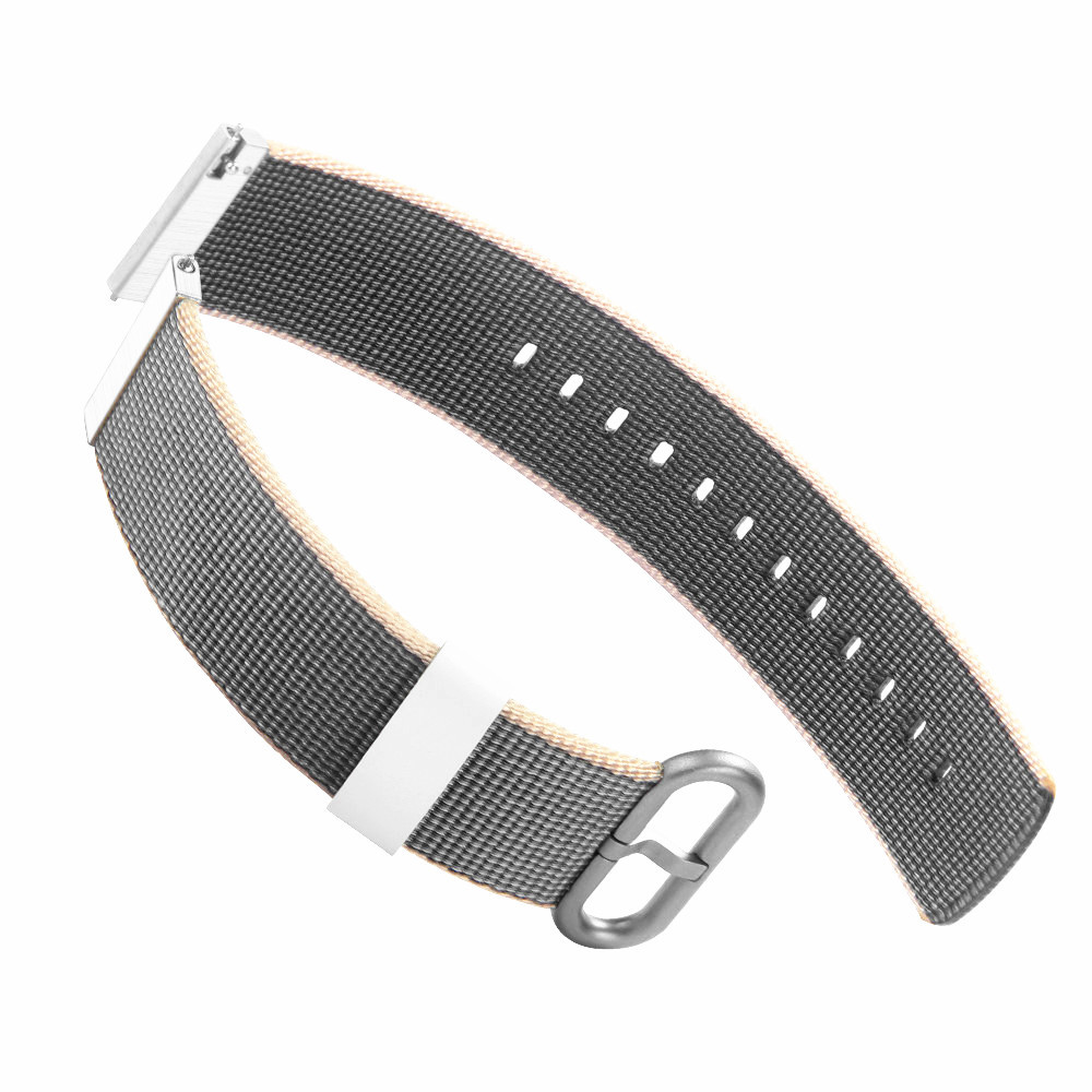 20mm For Huawei Sport Watch 2 Watch Bands Woven Nylon Fabric Wrist Strap Band Strap For Huawei Nylon Watch Bracelet D6 survival nylon bracelet brown