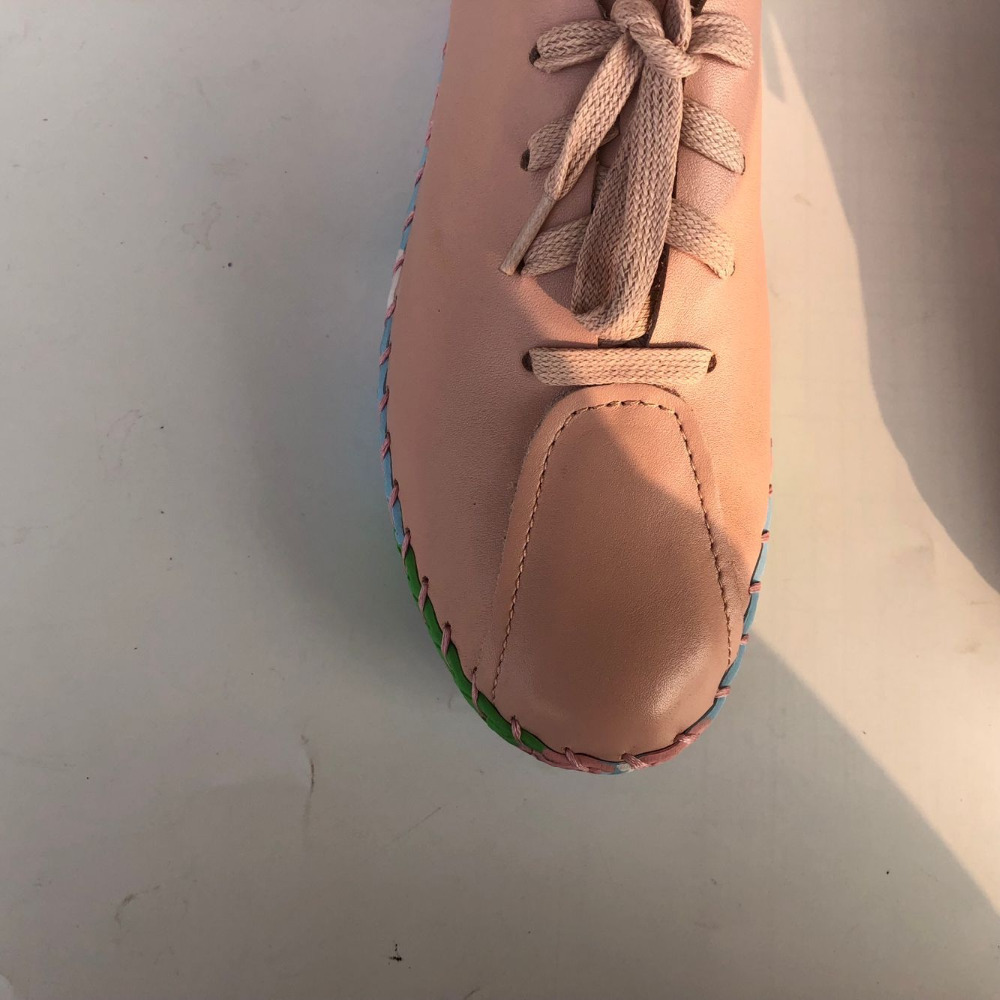 New 2017 spring,Genuine leather shoes,Pure handmade flat shoes,Women the retro art mori girl shoes ,Women fashion Casual shoes