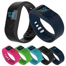 M5S 0.49 дюймов Умный Браслет Монитор Сердечного ритма Водонепроницаемый Bluetooth Smart Watch для iPhone IOS Android с Зарядным Устройством Оптовая