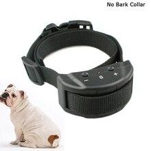 Pet Dog Training Collar Anti Bark No Barking Remote Electric Shock Vibration Remote electric for Pet Automatic Adjustable Train цена
