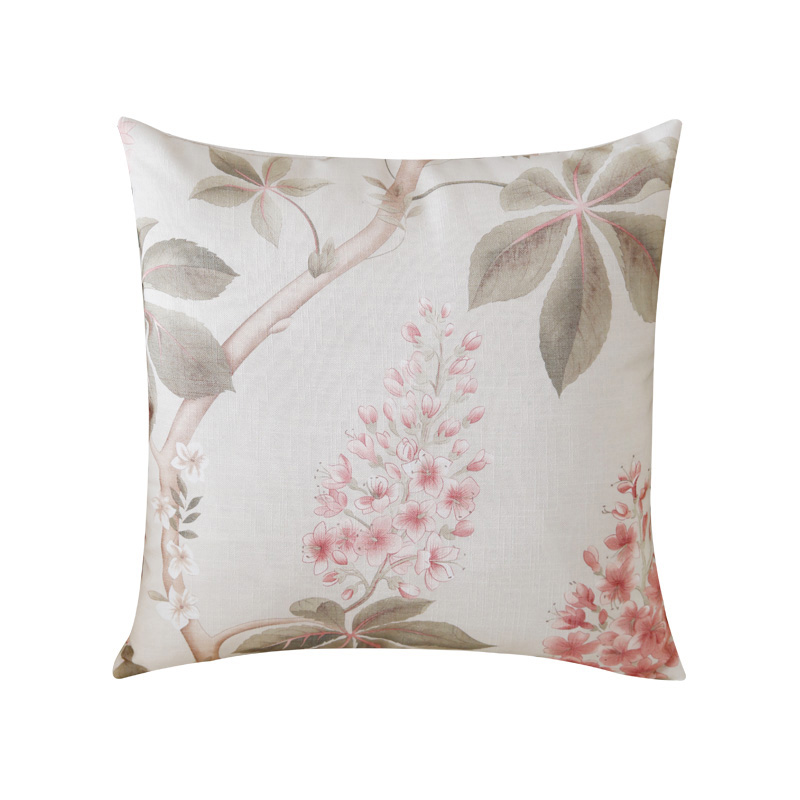 Chicity Printed Decor Floral Cushion Cover soft <font><b>Pillow</b></font> <font><b>Case</b></font> Home decorative For sofa bed car seat 45x45 <font><b>50x50</b></font> ready made image